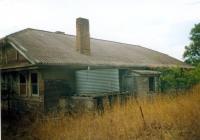 Blue cottage Rear View Photo Taken 2004