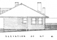 2 Canary Cottage End Elevation Plan 26th May,1938.