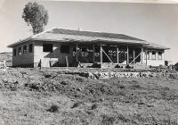 Canonbar Cottage being built