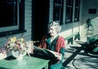 54 Brown Cottage Mother Mrs Hodgkinson