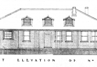 Canary Cottage Front Elevation Plan 26th may,1938