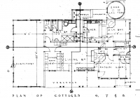 Floor Plan For Green Cottage 26th May,1938.