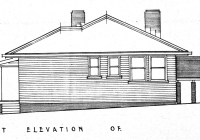 Gowrie cottage West elevation