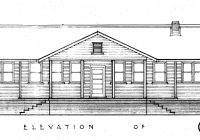 Molong Cottage Noth Elevation