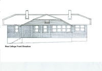 New Cottage Front Elevation