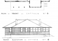 Orange Cottage Plans Drawn up Feb. 1938