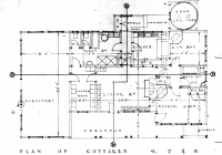 Red Cottage floor Plan 26th May, 1938
