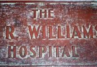 1356 Hospital Plaque