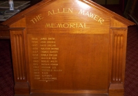 1358 Roll of Honour 1953 To 1966