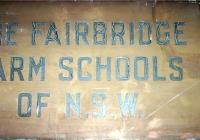 1360 Fairbridge Sydney Office Sign