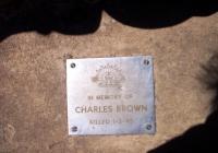 1371 Charles Brown Killed 1.3.1945