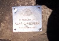 1373 Alan Christipher Redfern Killed 17.4.1952