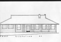 1 Green Cottage Front Elevation