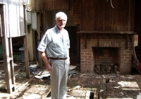 15 Peter Bennett  Green Fireplace 6.3.2006
