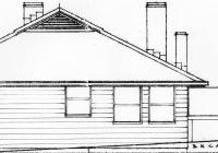 3 Green Cottage End Elevation