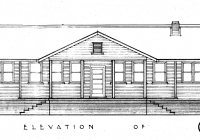 1 Molong Cottage Noth Elevation
