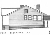 2 Molong Cottage West Elevation