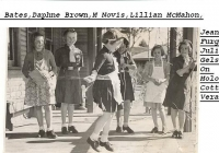 25 Molong Cottage Girls 1953