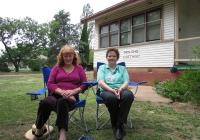 26 Former Molong Cottage Girls Margaret MacLauchlan & Christina Murray 2006