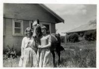 29 Marina McMahon & Julie Gelson Former molong Cottage Girls 1961