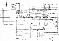 7 Floor Plan for Molong Drawn Up May 1937
