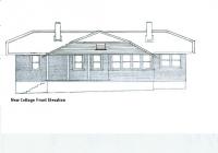1 New Cottage Front Elevation