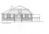 2 New Cottage Side Elevation