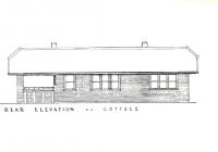 3 New Cottage Rear Elevation