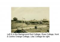 Orange Cottage front & Centre