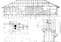 3 Red Cottage  Side Elevation. Plan 26th May, 1938